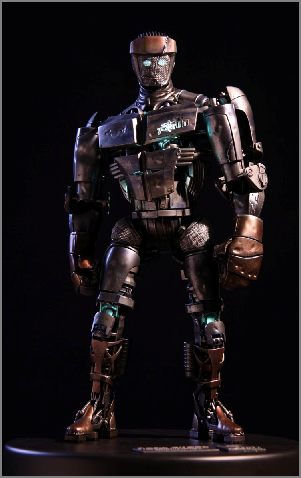 Atom from the movie Real Steel