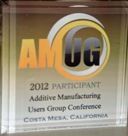 AMUG participant award