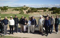 AMUG golfers in Santa Fe, NM