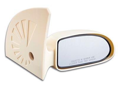 UV resistant car mirror printed in ASA