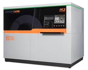 M2 cusing Multilaser from Concept Laser