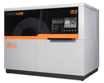 New M2 cusing Multilaser from Concept Laser