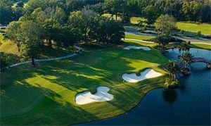Play a round at Eagle Landing