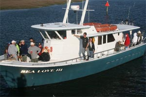 AMUG is chartering the Sea Love II