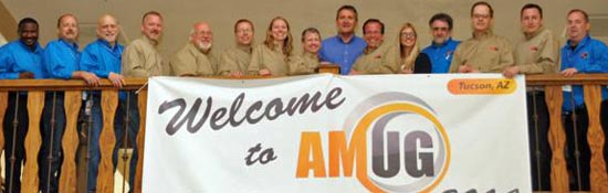 AMUG Board, Ambassadors and Liaisons welcome attendees to the 2014 conference.
