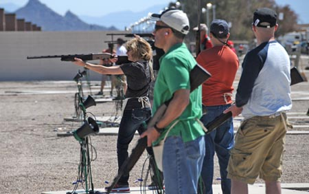 AMUG skeet shooting in Tucson (2013)