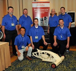 Just some of the Stratasys team at the AMUG Conference.