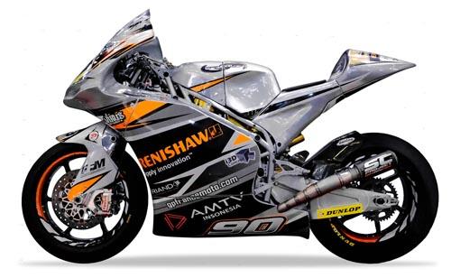 TransFIORmers MOTO2 bike