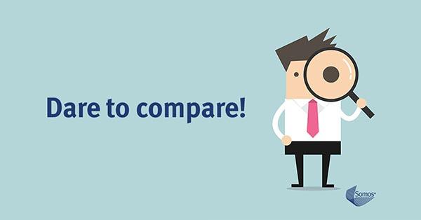 Somos - Dare to Compare graphic