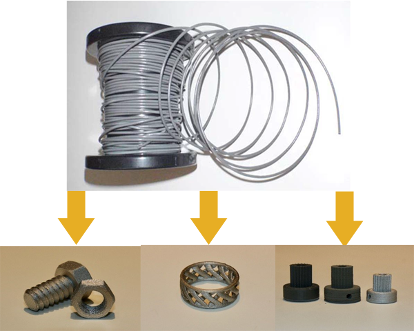Metal parts from FFF